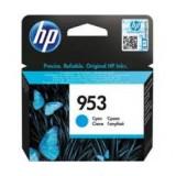 Cartus cerneala HP 953 CYAN, F6U12AE, 700 pagini, Officejet PRO 8210
