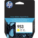 Cartus cerneala HP 953 YELLOW,  F6U14AE , 700 pagini, Officejet PRO 8210