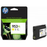 Cartus cerneala HP 953XL YELLOW, F6U18AE, 1600 pagini, Officejet PRO 8210