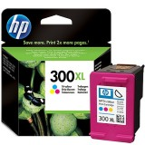 Cartus HP 300XL, Original, Color, 440 pagini CC644EE