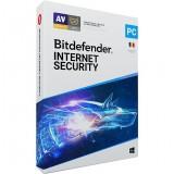 Antivirus Bitdefender Internet Security 2020, Nou, 1 AN - 1 PC,   Licenta retail, anti-ransomware, control parental, anti-tracker, monitorizare microfon, confidentialitate VPN si SafePay