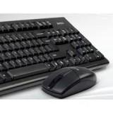 "DELUX KIT wireless tastatura wireless ""KA190"" + mouse wireless ""M320"", black, ""KA190G"""