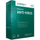 Licenta antivirus retail Kaspersky Anti-Virus 2016, Renew, 1 AN - licenta valabila pentru 3 calculatoare + 1 calculator gratuit