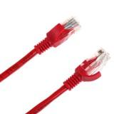 Cablu retea PATCHCORD UTP CAT 6E 10M ROSU INTEX