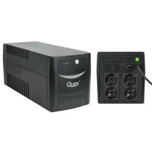 UPS 1000VA 600W SURSA NEINTRERUPTIBILA TENSIUNE - UPS MICROPOWER 1000 (1000VA/600W) QUER (KOM0553)