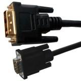 Cablu DVI - VGA 15 pini D-SUB, lungime 1.5M