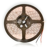 Banda LED SMD 3528, protectie la apa, alb cald, 5M