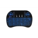 Mini tastatura MINI KB I8 AIR pentru SMART-TV, MEGA DROIDER IR - wireless, multimedia, touchpad, pilot IR