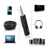 Receptor Bluetooth cu jack 3.5mm AUX Audio muzical,  Adaptor Handsfree fără fir pentru autoturism
