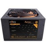 Sursa atx Njoy 500W, Ayrus 500, Eff 80%, 12V 2.3, ventilator 12mm, nivel zgomot 21dB, 1 x 4 + 4 pin ATX 12 V, 4 x sata, 2 x molex, 1 x 20 + 4 pin ATX, 1 x 6 pin + 2 PCI-E