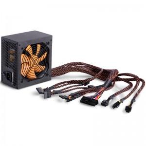 Sursa atx Njoy 500W, Titan 500, Eff 80+ Bronze, OCP / OVP / UVP / SCP / OPP Protection 1 x 20 + 4 pin ATX,1 x 4+4 pin ATX 12V, 2 x 6 pin + 2 PCI-E, 5 x SATA, 3 x 4pin Molex