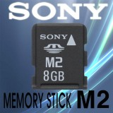8GB SONY Memory Stick Micro M2 Card , cod: MS-A8GN/2T