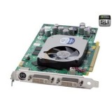 Placa video PCI-EX Nvidia QUADRO FX1400 128MB / 256biti, cu 2 iesiri DVI-I 24+5 pini, profil normal