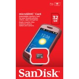 Card Micro SDHC 32GB, SanDisk