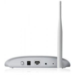 Wireless Access point TP-Link TL-WA701ND, 1xLAN 10/100, N150, Ping Watchdog, antena detasabila 4dBi, indoor, 2.4GHz, PoE, AP/ Client/ Bridge/ Repeater, Multi-SSID, WMM