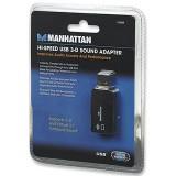 Placa de sunet 2 canale  Hi-Speed USB 3-D, Manhattan 150859 rev. 5.01