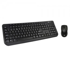 Kit Tastatura multimedia + Mouse optic, PS2, black, Serioux SRX-MKM5100