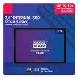 SSD 1TB 2.5 SATA3, r/w 550/490 MB/s, GOODRAM SSD CX400  SSDPR-CX400-01T