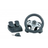 VOLAN Wireless 2.4GHz steering wheel cu vibratii, Gembird STR-W1-VF