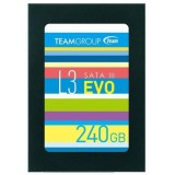 "SSD 240GB 2.5"" Team Group L3 EVO , SATA III 6GB/s, 530/470 MB/s"