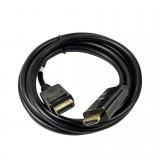 Cablu 2 metri DisplayPort tata -> HDMI tata, negru (TC-D256K)