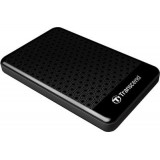 HDD EXTERN 1TB USB3.0 si USB2.0, Transcend StoreJet 25A3, antishock / fast backup, 2,5'' HDD