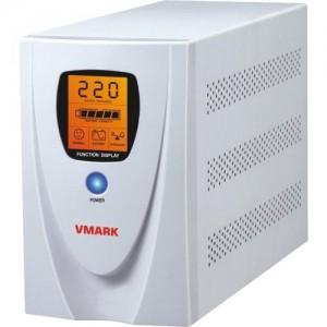 UPS V-Mark UPS-1200VP, 1200VA, 8 min back-up (half load), LCD Display, Power Management Software