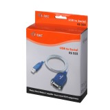 Cablu Adaptor USB to Serial RS232, i-Tec USBSEAD