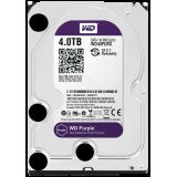 HDD 4TB WD Purple WD40PURX,  intern 3.5'', SATA/600, 64MB cache, surveillance - pentru supraveghere video