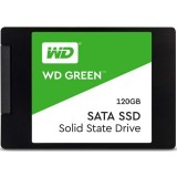 "SSD 120GB 2.5″ SATA3 WD Green Series, 3D TLC ""WDS120G2G0A"""
