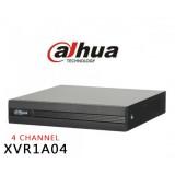 DVR XVR 4 canale Pentabrid Dahua XVR1A04, 1080N/720P cooper 1U H264