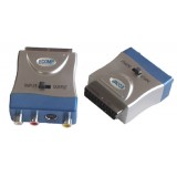 Adaptor Scart,-3 x RCA + SVHS HQ