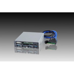 Cititor carduri I-BOX PCI-EX to USB3.0, negru, intern