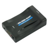 HDMI la SCART - Adaptor convertor activ; sens - pleaca din HDMI si intra in SCART