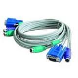 Cablu switch KVM Tastatura, Mouse, Audio Mama-Tata [Gembird CAS-241/441]