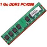 Memorie PC DDR2 1GB PC2-4200 533Mhz 2Rx8, DANE-ELEC cod: D2D533-064284NG