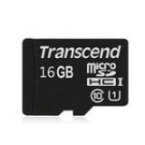Card memorie Micro SDHC 16GB Class 10 UHS-I , Transcend [TS16GUSDCU1]