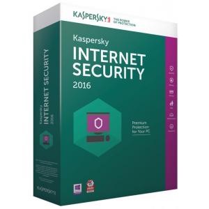 Licenta antivirus retail Kaspersky Internet Security , Nou, 1 AN - licenta valabila pentru 5 calculatoare
