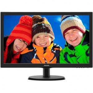 "Monitor 21.5"" PHILIPS 226V4LAB, FHD 1920*1080, TN, 16:9, WLED, 5 ms, 250 cd/m2, 170/160, 10M:1/ 1000:1, D-SUB, DVI, VESA, Speakers, Kensington lock, Black"