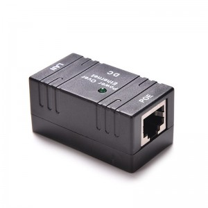 Adaptor Pasiv PoE Injector Splitter prin Retea Lan Ethernet pentru camere IP