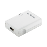 Print server Edimax 1P 10/100Mbps, USB 2.0 print port