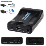 SCART la HDMI - Adaptor convertor video 1080P HD TV DVD