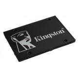 "SSD 256GB KINGSTON KC600, 2.5 inch, S-ATA 3, 3D TLC Nand, R/W: 550/500 MB/s, ""SKC600/256G"""