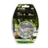 Mini TDK DVD-R, cutie 10 bucati, capacitate 1.4GB, viteza scriere 4x