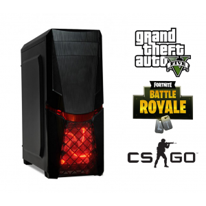 PC GAMING ORCUS X14 * INTEL CORE I5-750 2.66GHz 8MB cache, 8GB RAM, 240GB SSD + HDD 250GB + VIDEO 1030 2GB DDR5 - GTA5, CS-GO, Fortnite