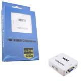 CONVERTOR VGA & AUDIO LA HDMI, DIN LAPTOP IN TELEVIZOR